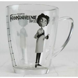 Disney Store Frankenweenie Glass Mug Frankenstein